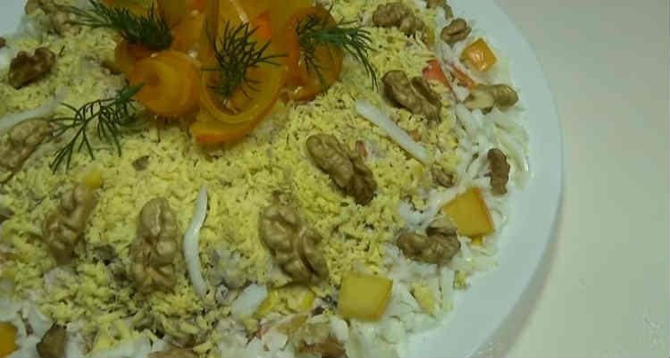 Salat s hurmoj25