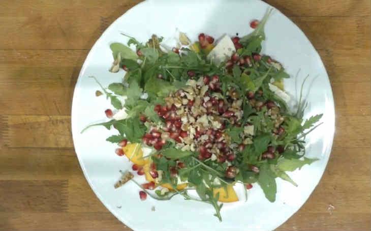 Salat s hurmoj29