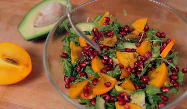 Salat s hurmoj32