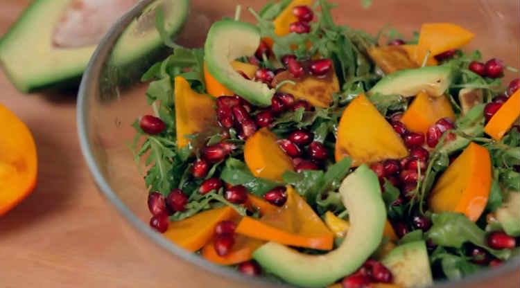 Salat s hurmoj33