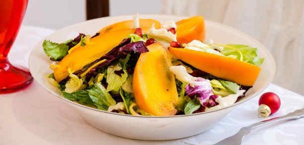Salat s hurmoj34