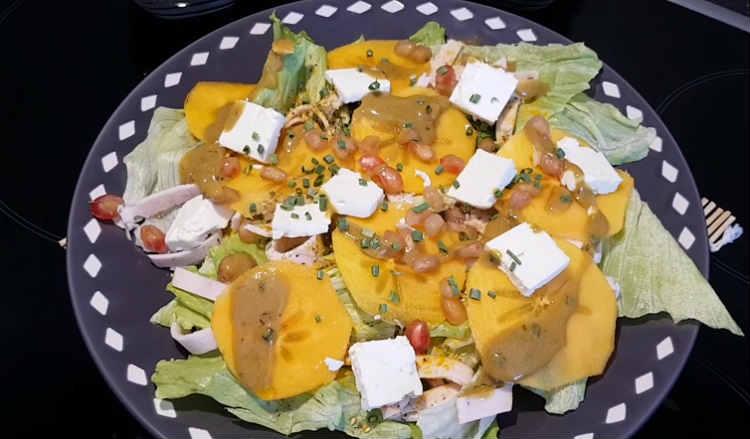 Salat s hurmoj43
