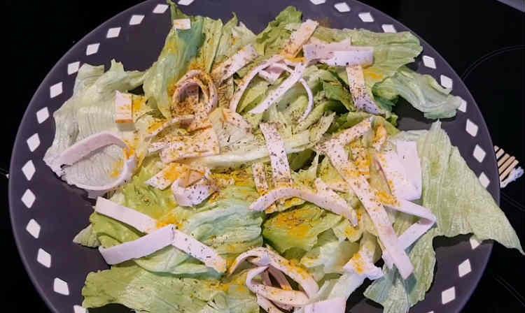 Salat s hurmoj45