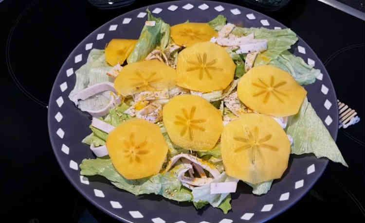 Salat s hurmoj46