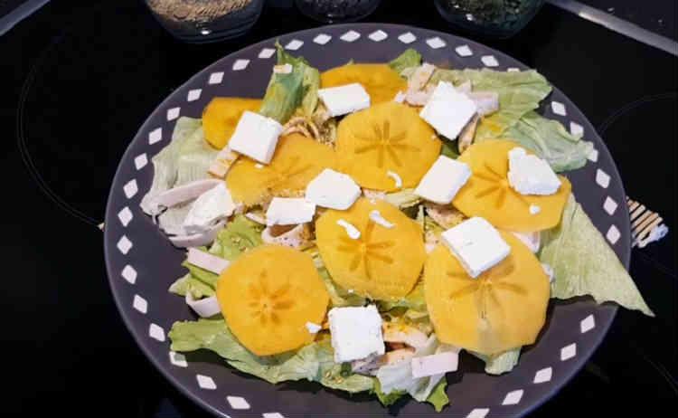 Salat s hurmoj47