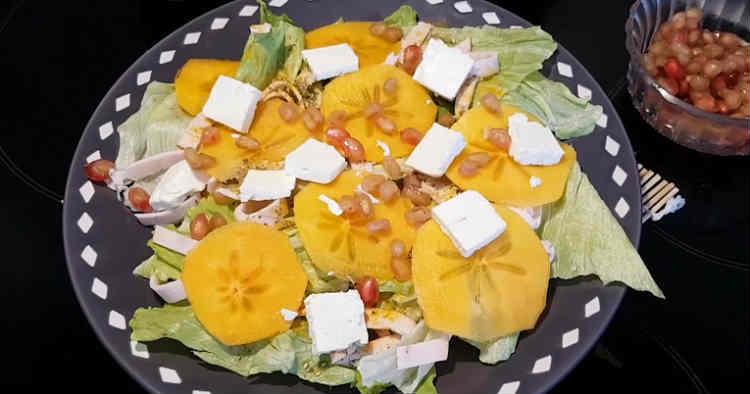 Salat s hurmoj48