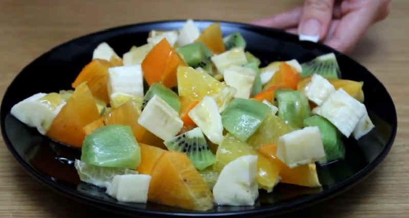 Salat s hurmoj55