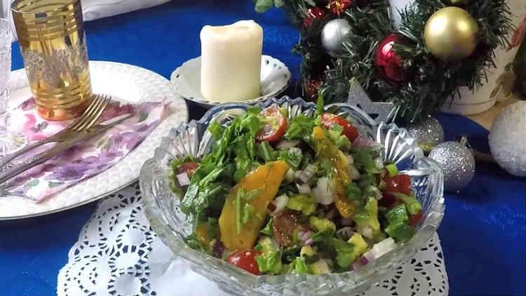 Salat s hurmoj58