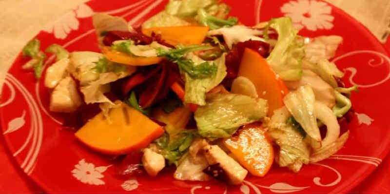Salat s hurmoj6