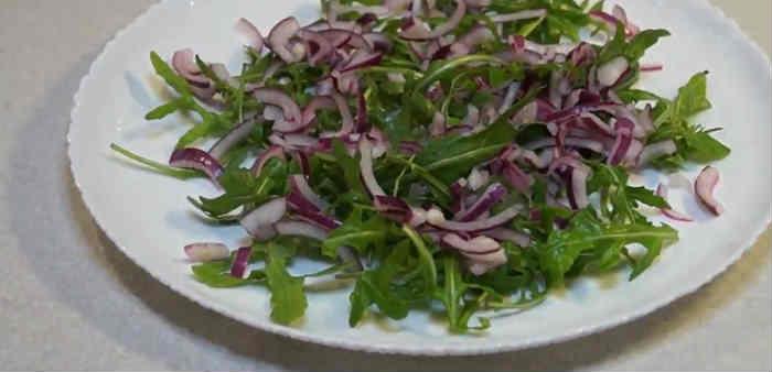 Salat s hurmoj8