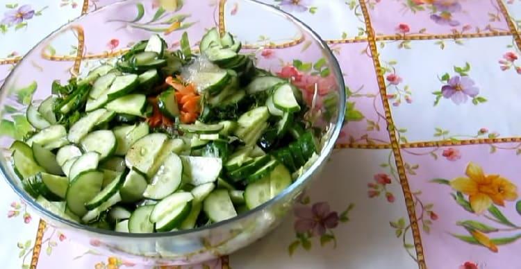Salat iz svezhej kapusty s morkov'yu15