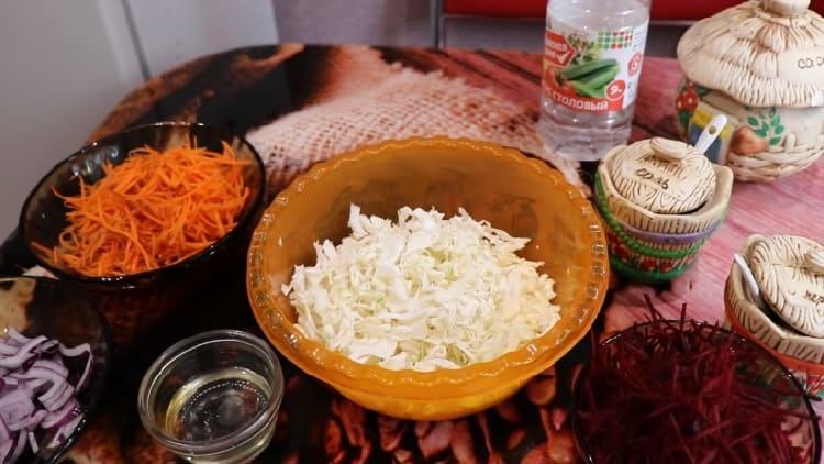 Salat iz svezhej kapusty s morkov'yu24