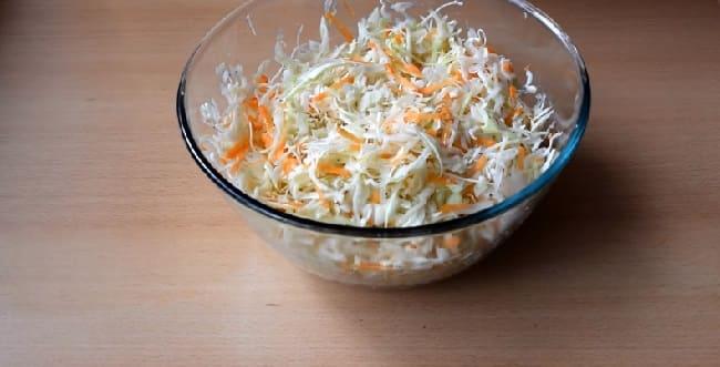 Salat iz svezhej kapusty s morkov'yu3