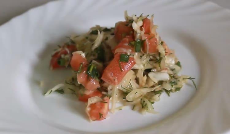Salat iz svezhej kapusty s morkov'yu38