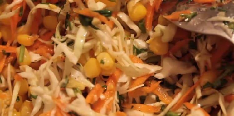 Salat iz svezhej kapusty s morkov'yu41