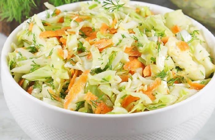 Salat iz svezhej kapusty s morkov'yu7