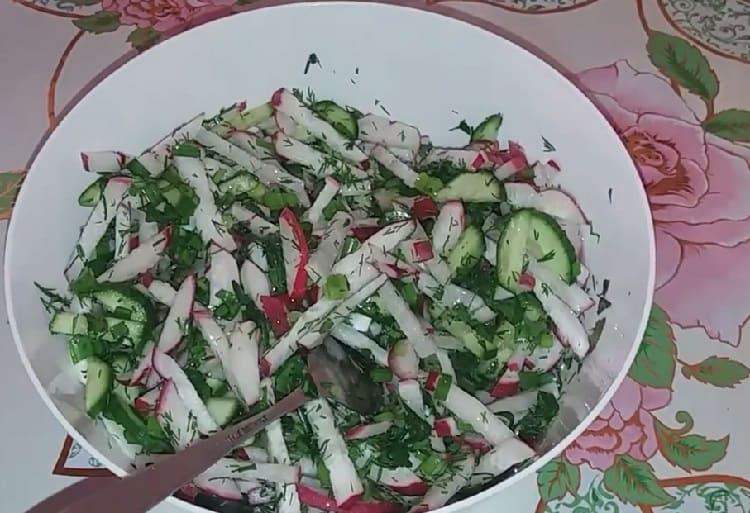 Salat s rediskoj13