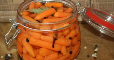 Маринованная морковь на зиму — 5 очень вкусных рецепта