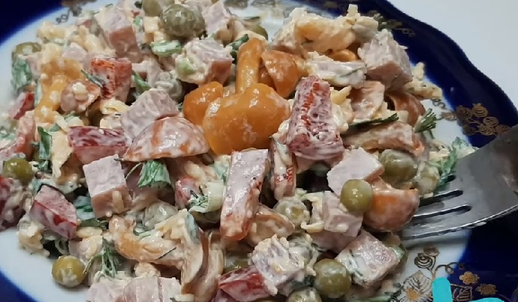 Salat s marinovannymi opjatami14