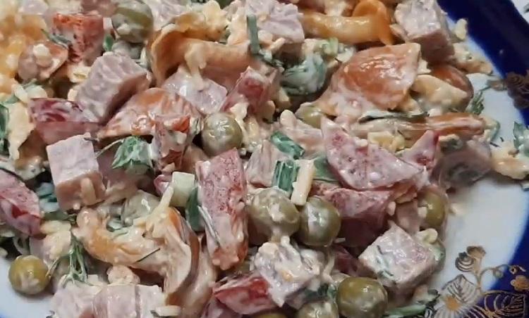 Salat s marinovannymi opjatami16