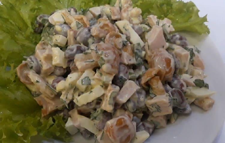 Salat s marinovannymi opjatami33