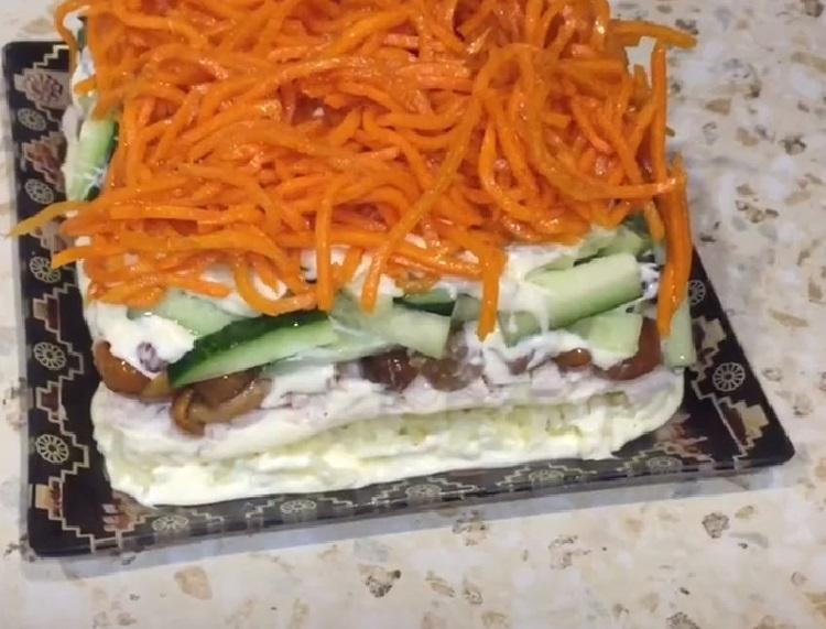 Salat s marinovannymi opjatami36